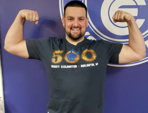 The First Member of the 500 WOD club, Chris D!