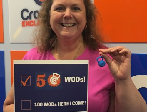 Kathy is on FIRE Hitting FIFTY WODs!